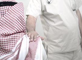 حالة المريض والمعاق